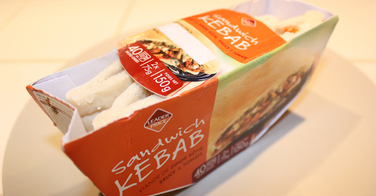 Sandwich Kebab de Leader Price
