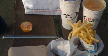 Menu KBB traditionnel - Boum Burger à Toulouse