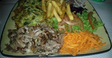 Les inimitables assiettes - La Turquoise à Paris