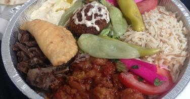 Assiette Libanaise - St Eustache Chawarma à Paris