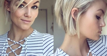 Ombré hair + carré, la coupe tendance du moment ! - 26 photos