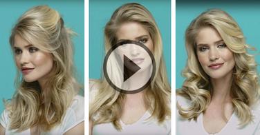 Tutoriel professionnel : 1 modèle 3 coiffures !