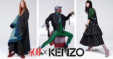 ALERTE MODE : H&M lance une collection en collaboration avec KENZO !!!