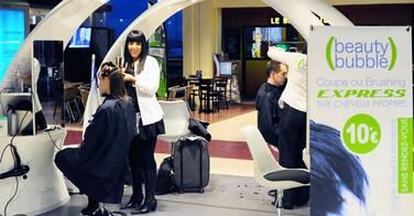Pôle Emploi s'associe à Beauty Bubble pour offrir des coupes de cheveux aux chômeurs !