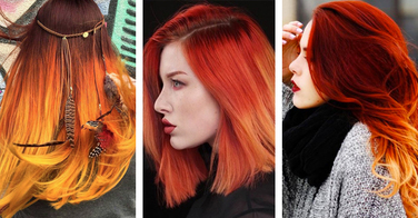 Fire hair, la nouvelle couleur tendance qui enflamme le web ! - 19 photos