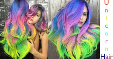 Attention ! Vous allez adorer le unicorn hair !