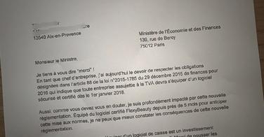 Loi de finances : un coiffeur écrit une lettre incroyable au ministère