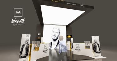 Magnifique ! Identik dévoile le stand MCB créé spécialement pour la collaboration avec M.POKORA