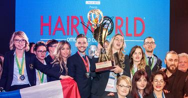 La France sacrée champion du monde de coiffure 2017 !