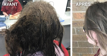 Une ado dépressive demande à sa coiffeuse de lui raser les cheveux. Elle refuse et passe 13h à la relooker pour un résultat hallucinant !