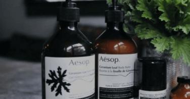 Gamme de shampoings et après-shampoings Aesop