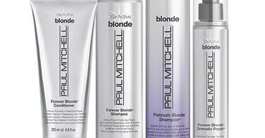 Gamme pour cheveux blonds Paul Mitchell