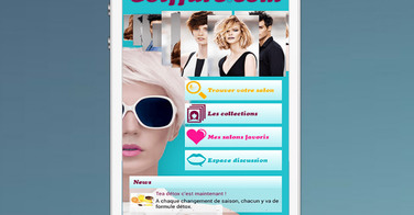 Coiffure.com lance son application