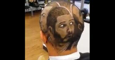 Playoff NBA 2014 : Tony Parker et Tim Duncan sur la coiffure d'un fan !