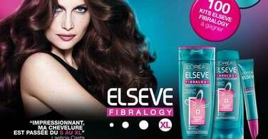 Elseve Fibralogy pour dire Halte aux cheveux fins