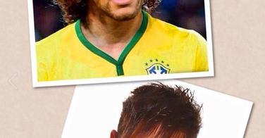 Neymar et David Luiz échangent leurs coiffures...