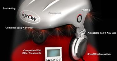La FDA valide la mise sur le marché du iGrow, casque qui favorise la repousse des cheveux