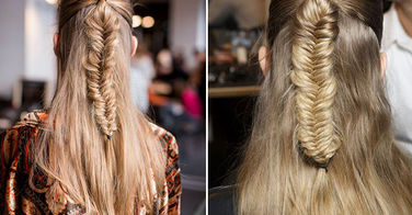 "6 photos de tresses en épi ""nomades"", grande tendance de la Fashion Week parisienne !"
