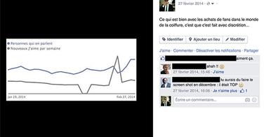 Les achats de fans Facebook dans la presse professionnelle coiffure