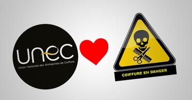 Coiffure en Danger et l'UNEC fusionnent !