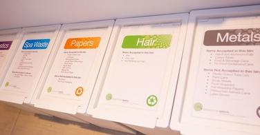 Cette société recycle tous les déchets des salons de coiffure