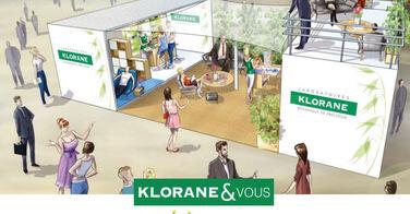 Klorane ouvre un salon de coiffure éphémère à ce week end à Paris