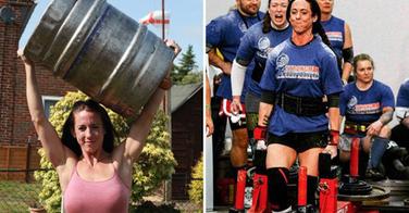 La femme la plus forte du monde est... une coiffeuse de 1,65 mètres !