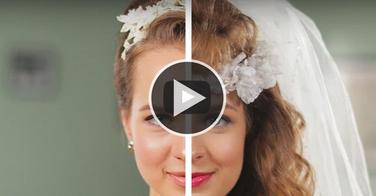 Vidéo incroyable : 50 ans de coiffures de mariage résumées en 2 minutes