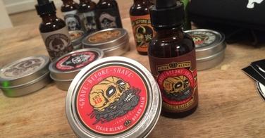Grave Before Shave : test approfondi du cigar blend (baume et huile)