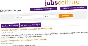 Lancement de la nouvelle version de JobsCoiffure.fr !