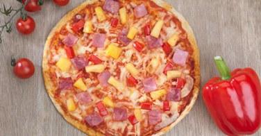 Une pizza parfaitement équilibrée