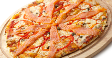 La pizza Norvégienne