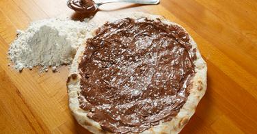La pizza au Nutella