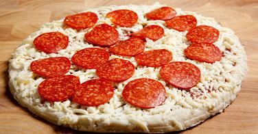 La pizza surgelée