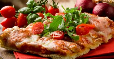 Les pizzas carrées