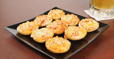 Recettes de mini pizzas