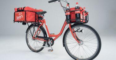 Pizza Hut s'essaie à la livraison en vélo