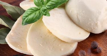 Ingrédient gratiné, la mozzarella