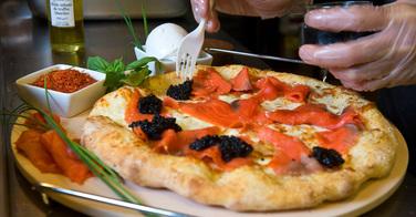 La pizza la plus chère au monde est vendue 4250 dollars