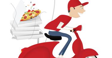 Pizza driver, un jeu pour gagner une pizza