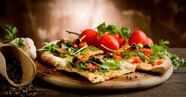 """Cuisiner facilement une pizza """"light"""""""