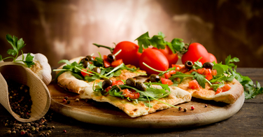 "Cuisiner facilement une pizza ""light"""