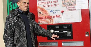 Distributeurs à Pizza