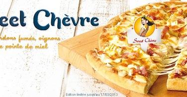 Sweet Chèvre et autres surprises chez Domino's Pizza pour la rentrée