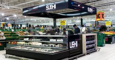 Sushi gourmet chez Leclerc