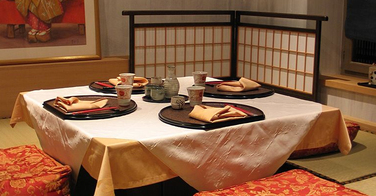 Manger dehors au japon