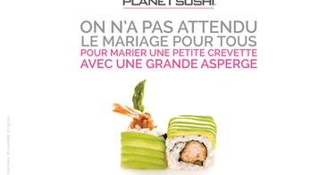 Planet Sushi dit oui au mariage des saveurs pour tous