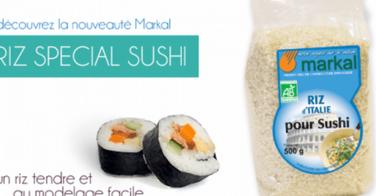 Le riz spécial sushi MARKAL