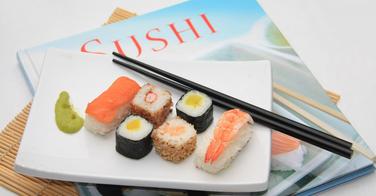 Livres sur les sushis