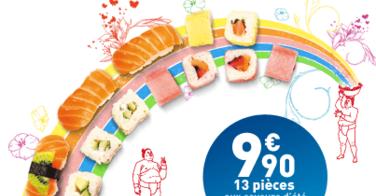 Les nouvelles boxs O'Sushi
